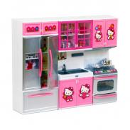 Bộ Tủ Bếp Đồ Chơi 3 Khoang Hello Kitty