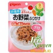 Gói gia vị rắc cơm Pigeon vị cá hồi 9m+