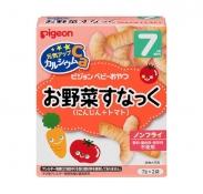 Bánh ăn dặm Pigeon vị cà rốt, cà chua (7gx2) (7m+)