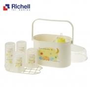 Giá úp bình sữa có nắp Richell