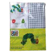 Khăn quấn bé, khăn tắm Eric Carle 100% cotton tự nhiên