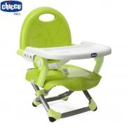 Ghế ăn điều chỉnh độ cao Pocket snack xanh lá