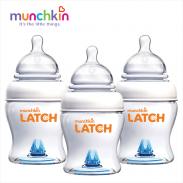 Bộ 3 bình sữa Munchkin (120ml) MK15626