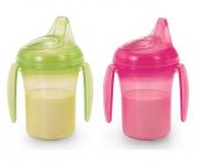 Bộ 2 cốc tập uống chống đổ có quai hữu cơ - UP0189LH