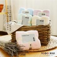 Set 2 khăn tắm & khăn mặt sợi tre YoDo Xiui Nhật Bản