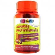 Kẹo dẻo Vitamin Pediakid Multivitamines