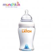 Bình sữa Latch Munchkin cổ rộng (240ml)(3m+) MK15669