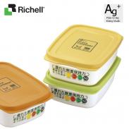 Bộ 3 hộp đựng thức ăn 520ml Richell HWRC29780