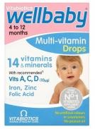 Vitamin WellBaby Drops 30ml