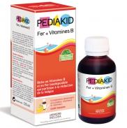 Pediakid Bổ Sung Sắt (Fer) & Vitamin B 125ml