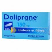 Thuốc hạ sốt doliprane (8kg-12kg) dạng đút hậu môn 150mg