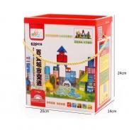 Bộ Lego xếp hình thành phố 62pcs (36m+)