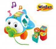 Máy bay thả hình khối có nhạc winfun