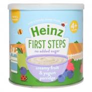 Cháo Heinz sữa chua trái cây 240g (4m+)