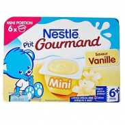 Váng sữa Nestle vị vanille (6x60g) (6m+)