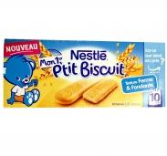 Bánh ăn dặm Nestle Ptit vị bích quy (10m+) (180g)