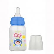 Bình sữa Agi Premium cổ hẹp xanh (120ml) (0m-3m)
