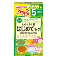 Bột ăn dặm Wakado 4 vị hỗn hợp