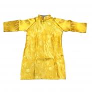 Áo dài cách tân màu vàng cho bé