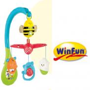 Treo cũi hình động vật có nhạc winfun