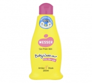 Sữa tắm gội Wesser 2in1 hồng (200ml)