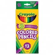 Bút chì màu crayola 12 màu - Coloredpencils