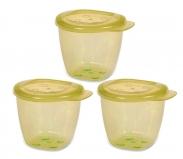 Bộ 3 hộp đựng thức ăn hữu cơ - UP4187OL