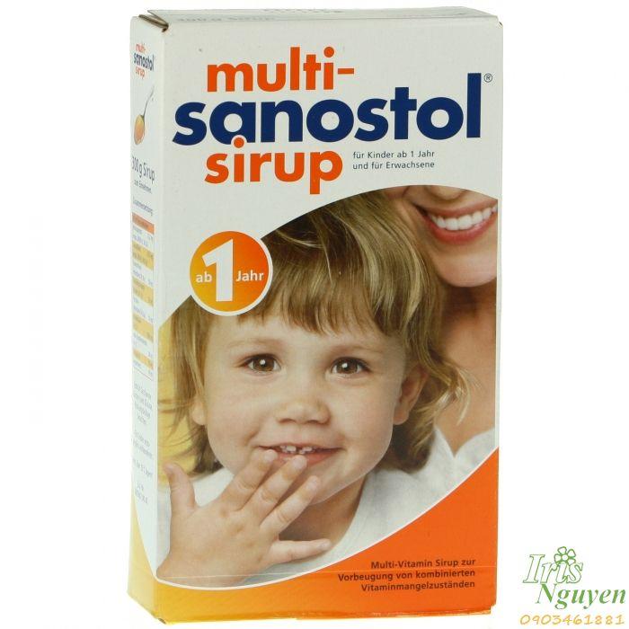 Vitamin multi Sanostol sirup số 1 ...