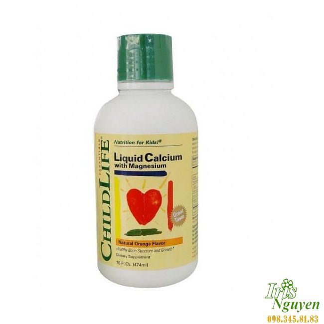 Vitamin Childlife Calcium dạng siro - ...