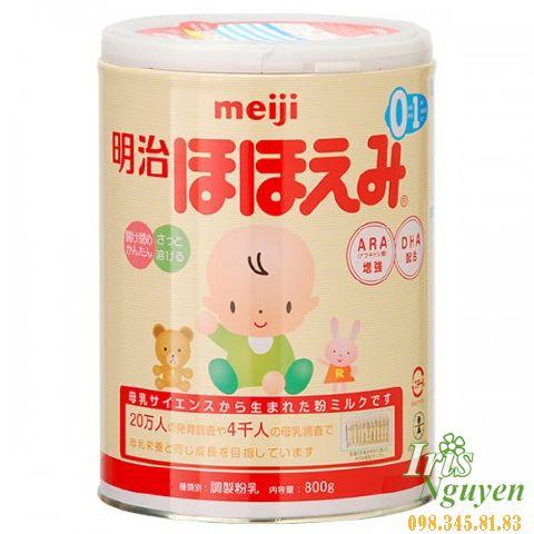 Sữa Meiji số 0 (820g) (0-9m)