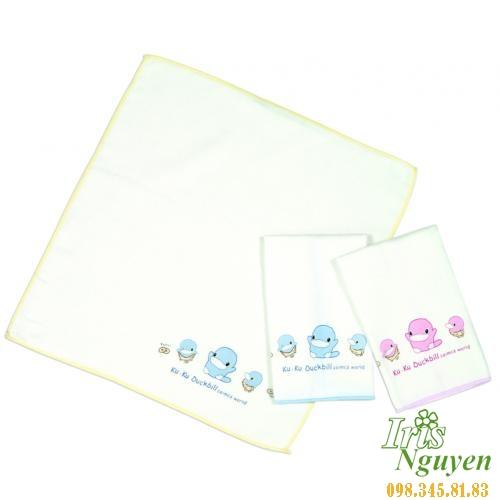 Bộ 3 khăn tắm vuông Kuku