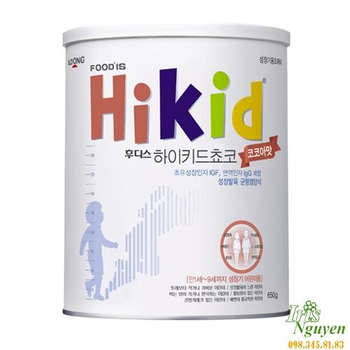 Sữa Hikid (tăng cân & chiều ...