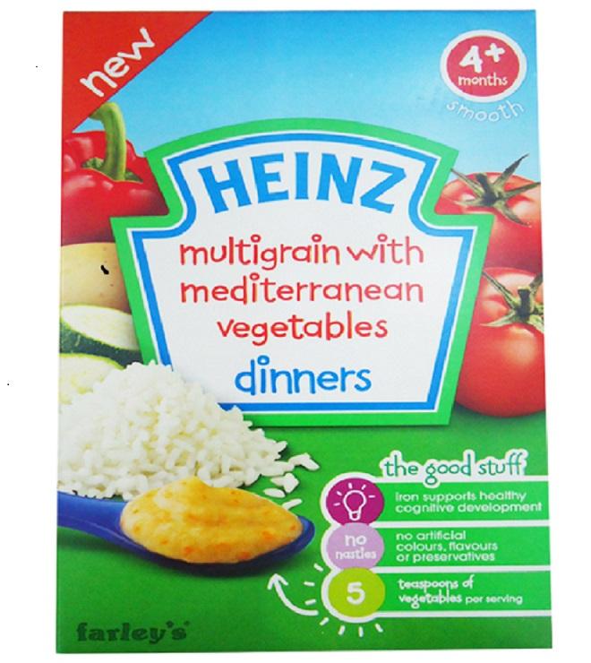 Bột ăn dặm Heinz vị ngũ ...