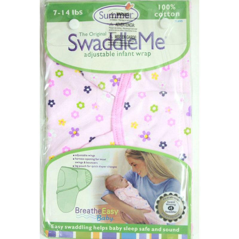 Chăn Cuốn Dệt Summer Infant Swaddle Me