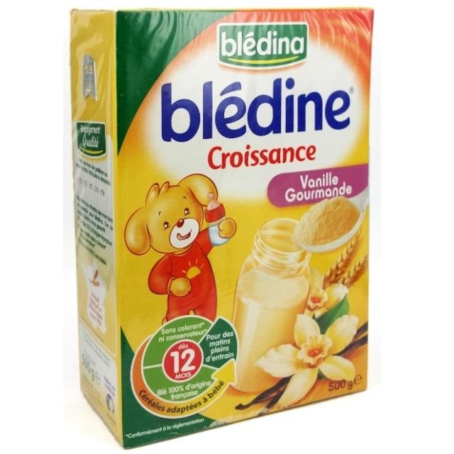 Bột pha sữa Bledina vị vani