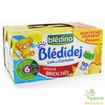 Sữa tươi ngũ cốc Blédina (Bánh mì) (6M+)