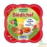 Mỳ Spaggetti bò Bledina Chef 12m+