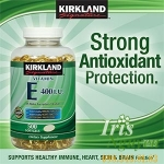 Viên uống Vitamin E 400 I.U Kirkland Signature 500 viên