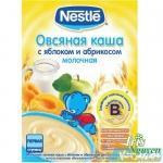 Bột ăn dặm Nestle Nga vị táo - đào 6m+
