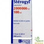 Vitamin Sterogyl dung dịch uống 2000000ui - 100ml