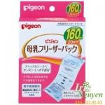 Túi trữ sữa Pigeon 160ml 20 túi