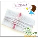 Túi lưới giặt quần áo Nhật 30cm x 23cm