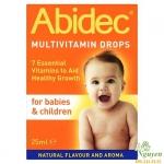 Vitamin Abidec dạng nhỏ giọt 4m+ (25ml)