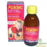 Vitamin Abidec Omega 3 dạng siro 150ml