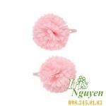 Cặp tóc hồng phấn cho bé