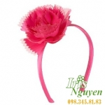 Bờm hoa mười giờ màu hồng cho bé