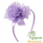 Bờm hoa mười giờ màu tím cho bé