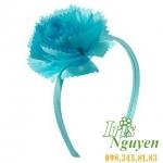 Bờm hoa mười giờ màu xanh cho bé