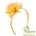 Bờm hoa mười giờ màu cam cho bé
