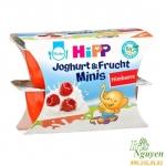 Sữa chua hoa quả Hipp vị dâu